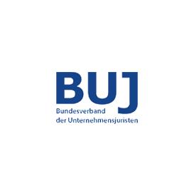 Logo BUJ Bundesverband der Unternehmensjuristen circle