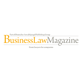 Logo BusinessLaw Magazine circle