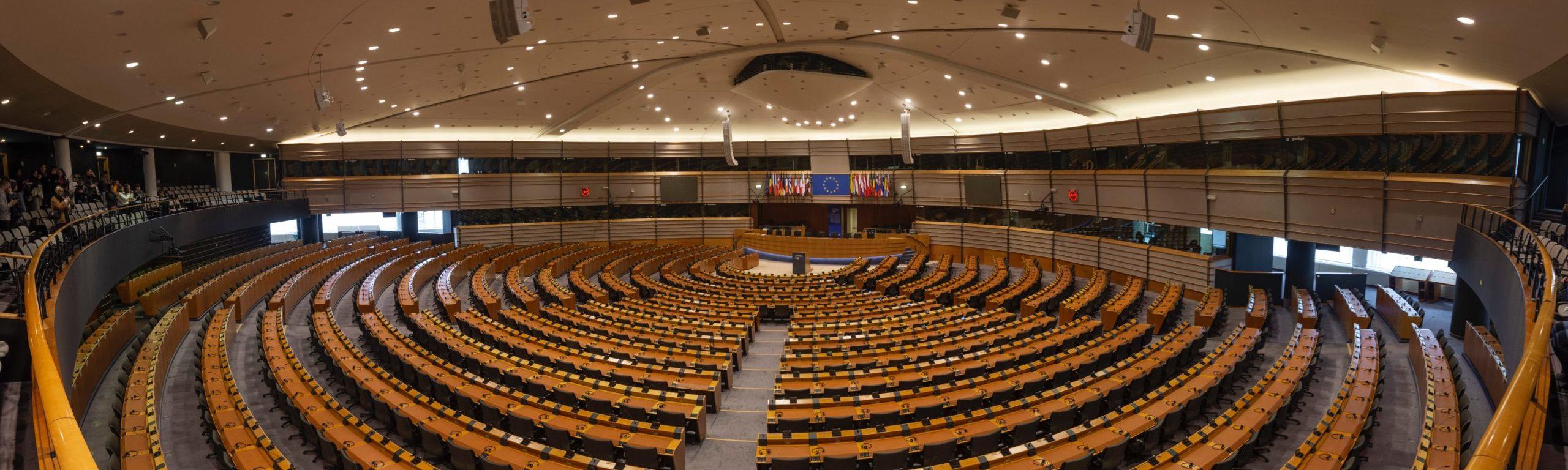 Empty auditorium of European Institution ©Marius Oprea, unsplash.com