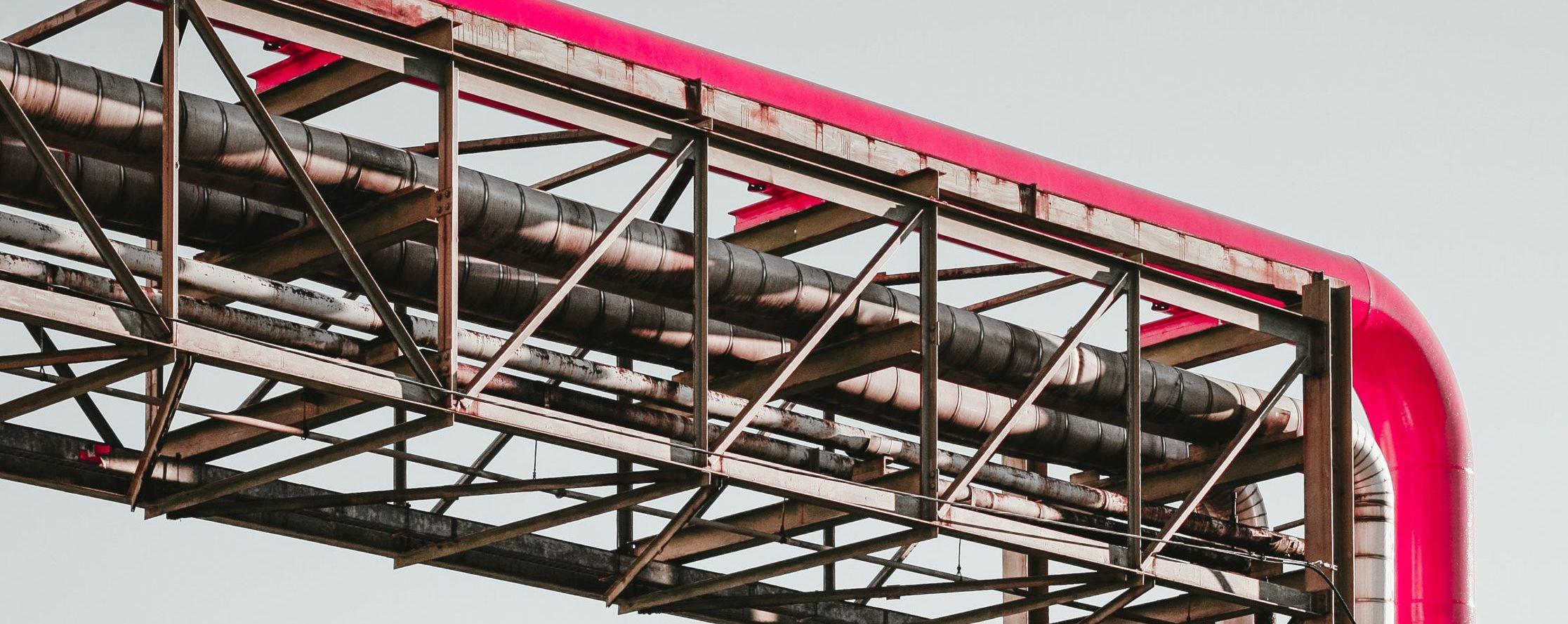 Industrial pipes ©Martin Adams, unsplash.com